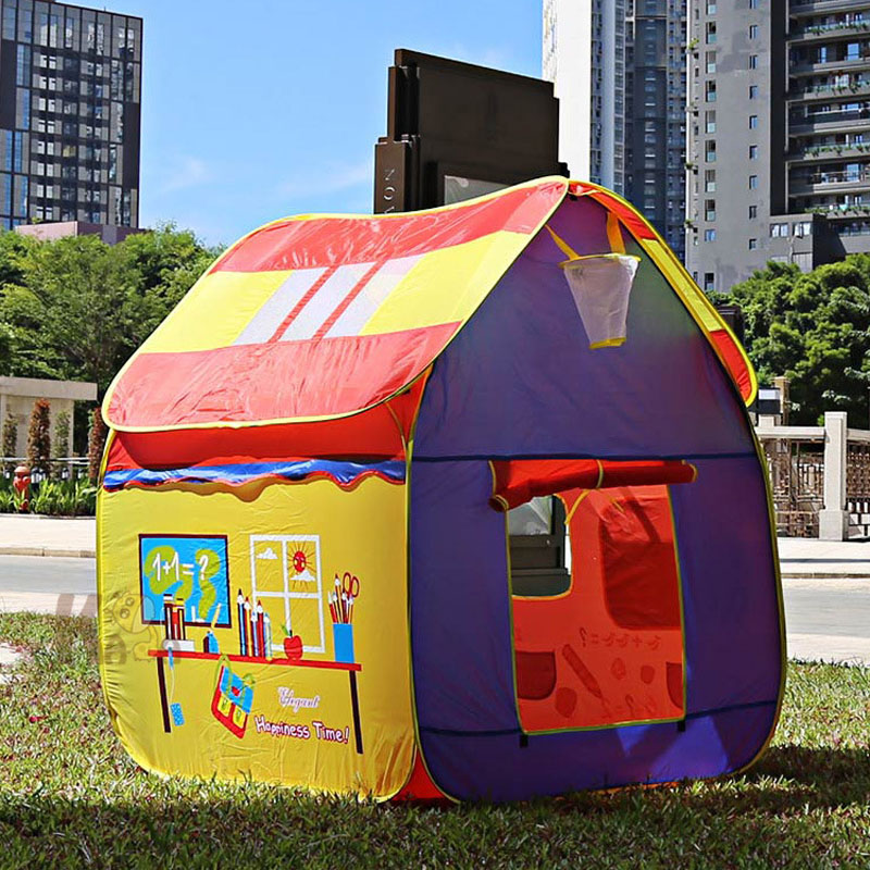 Large Game Tent Detachable Children's Tent House Baby Play House Large Game Tent House Play House Kids Private Spare Room Toys купить брюки house