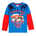 novatx baby boys t shirts long sleeve cartoon Autumn children t shirt print kids t shirt for boys children clothing