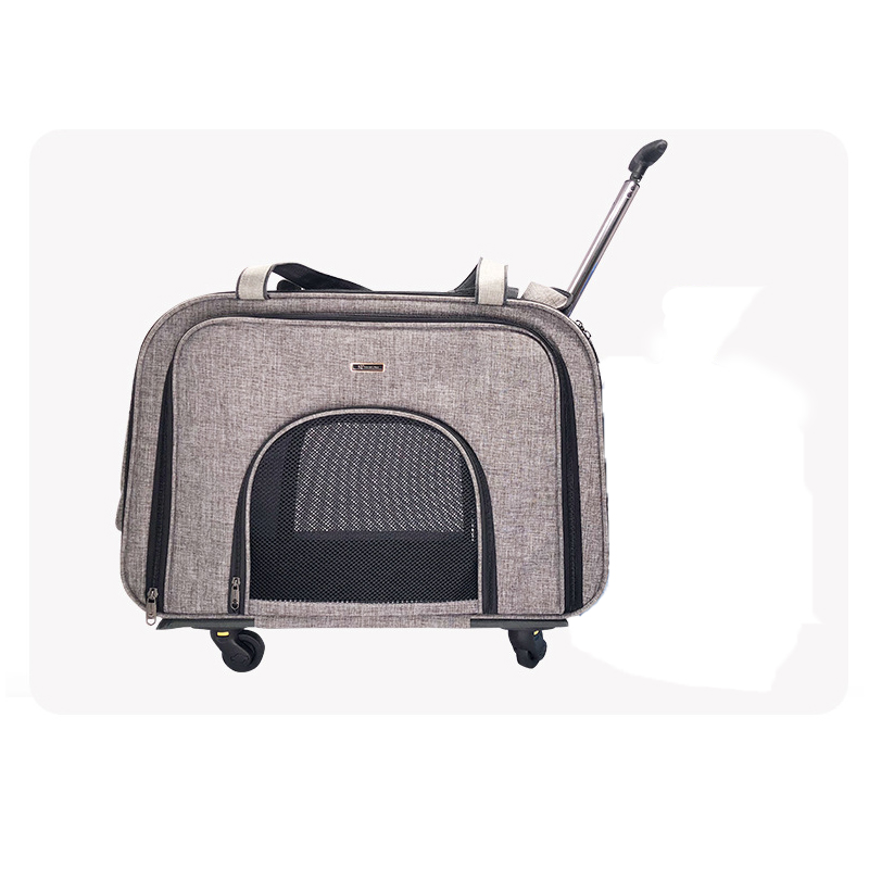 pet-stroller-trolley-box-small-and-medium-dog-four-wheeled-breathable-outing-package-mute-cat-and-dog-portable-luggage-supplies