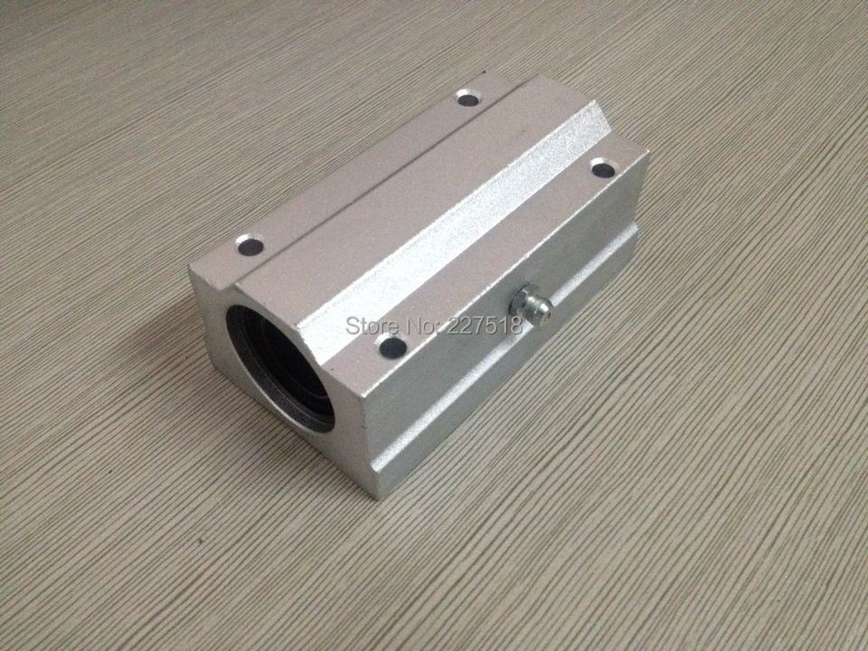 1pc SCS60LUU 60mm Linear axis Ball Bearing block, Bearing pillow Bolck sc10uu scs10uu 10mm linear axis ball bearing block bearing pillow bolck linear unit for cnc