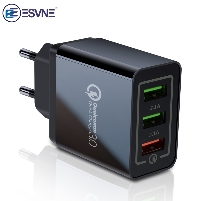 Qualcomm Quick Charge 3.0 Charger Phone Charge Samsung Mobile Phone Charger Fast Charger(China)