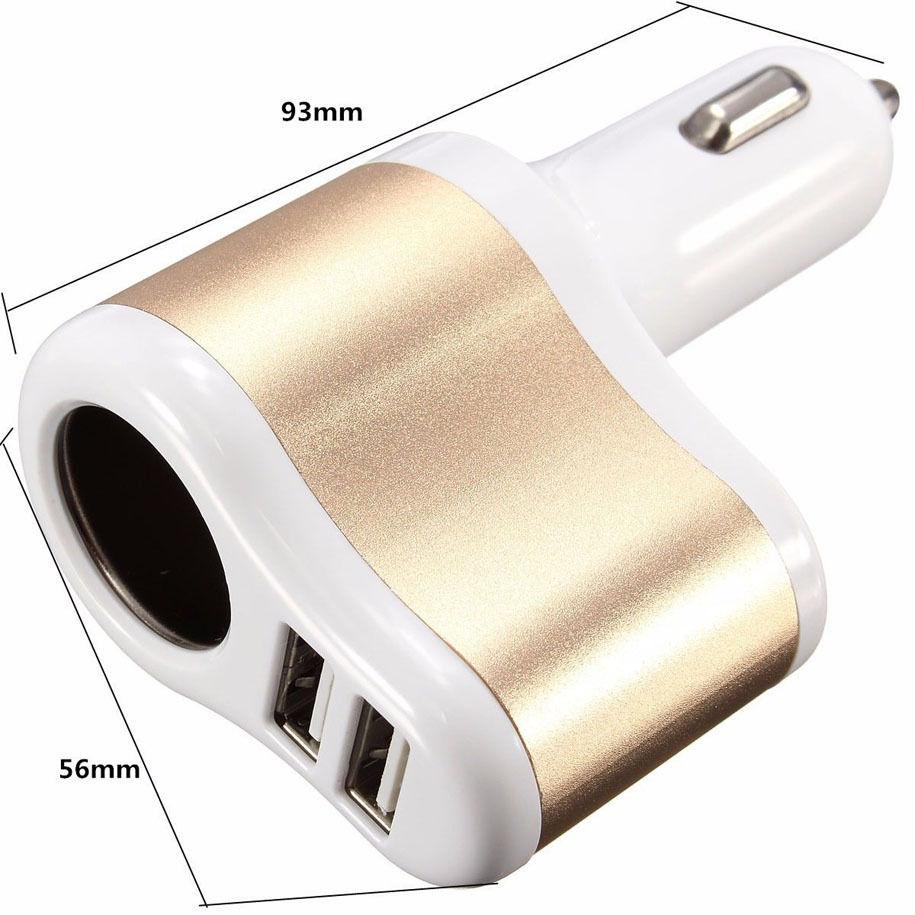 LYBALL 3.1A Schnellladung Dual USB Autoladegerät für iPhone Samsung - Handy-Zubehör und Ersatzteile - Foto 4