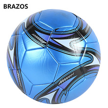 Size 5 Leather Soccer Ball Official Training Football Ball Competition Balls Outdoor Adult Student Foot Game Futebol Voetbal new premier football ball pu official size 5 soccer ball goal league ball outdoor sports football training balls futebol futbol