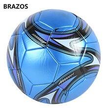 Ballon de Football en cuir taille 5, balles de compétition pour l'extérieur, entraînement officiel, Futebol, Voetbal