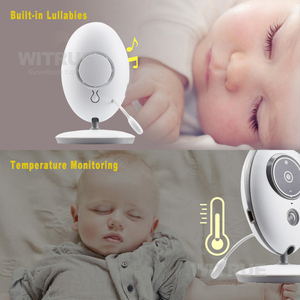 Image 3 - Draadloze Babyfoon VB605 Radio Video Nanny Babyfoon 2.4 Inch Monitor Bebe Met Camera Ir Nachtzicht Baby Sitter Babyfoon