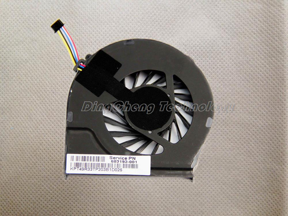 HOLYTIME FOR HP G4-2000 G6 G6-2000 G7 G7-2000 Original and New CPU Cooling fan 683193-001 FAR3300EPA 100% fully test image