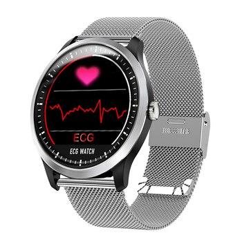 Men's Smart Watch ECG Sports Watch ECG+PPG ECG HRV Report Heart Rate Blood Pressure Test IP67 Waterproof Smart Wristband Women Sports Watches