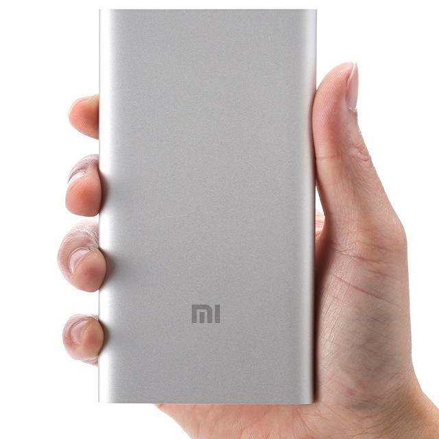 100% original xiaomi cargador de energía real 5000 mah mi cargador externo para iphone xiaomi samsung + caja al por menor envío de la gota