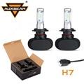 Auxbeam CREE Chips H7 Led Car Headlight 2pcs Led Driving Head Light Bulbs Single Beam Auto H7 Fog Lamps 6500K 12V 24V Fan-less