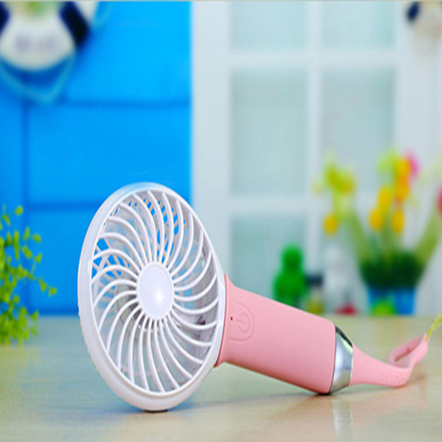 Mini Fan Portable Hand Held Cooling Portable Fan Led Light Mini Air Conditioner Adjustable Speed heat Fan Air Conditioner