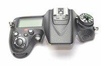 Oryginalny nowy górna pokrywa Shell jednostka dla Nikon D7100 z górnym panelem lcd  lampa błyskowa  kabel Flex FPC aparat wymiana