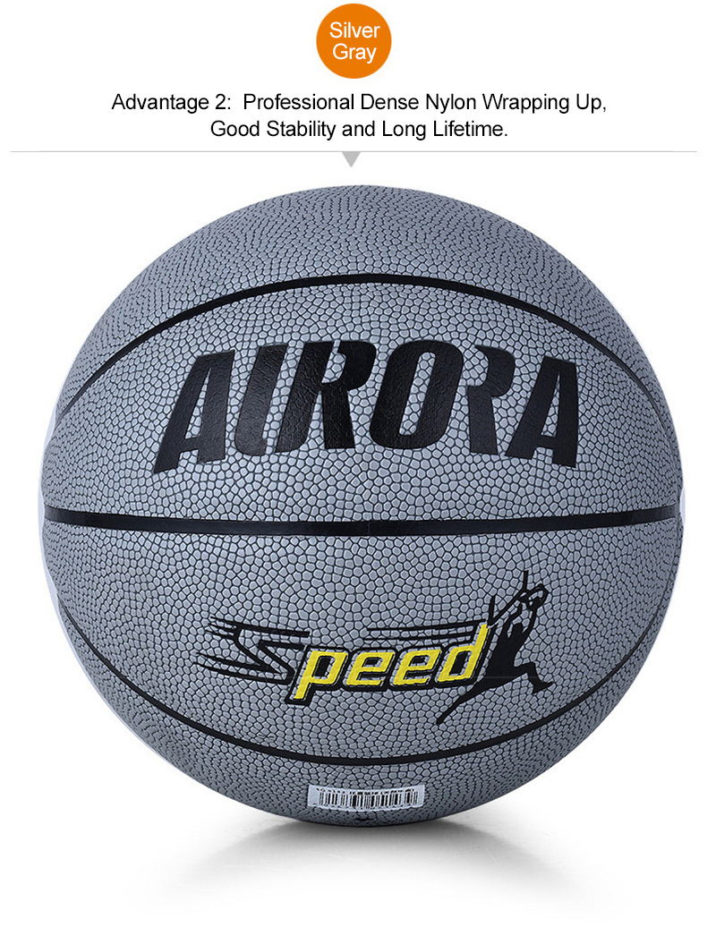 FURRA Professional Standard Basketball Abrasion-Resistant PU Skin Durable Butyl Tube Basketball for Adult Match Trainning SPEED (13)
