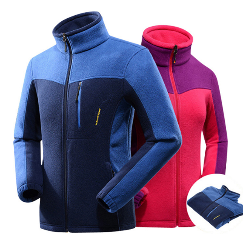 Winter High Quality Outdoors Hiking Fleece Softshell Jacket Men Women Thicked Polar