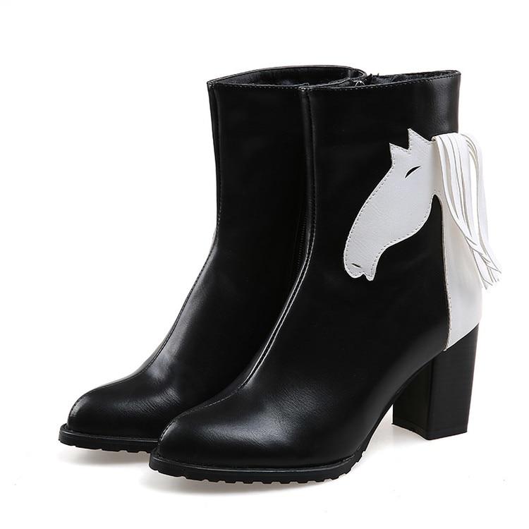 2017 Neue Botas Mujer Winter Stil Frauen Femininas Stiefeletten Botas Masculina Zapatos Botines Mujer Chaussure Femme Schuhe C-3 Und Verdauung Hilft