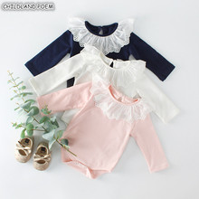 Baby Girl Romper Long Sleeve Baby Clothes