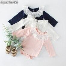 Baby Girl Romper Long Sleeve Baby Clothe