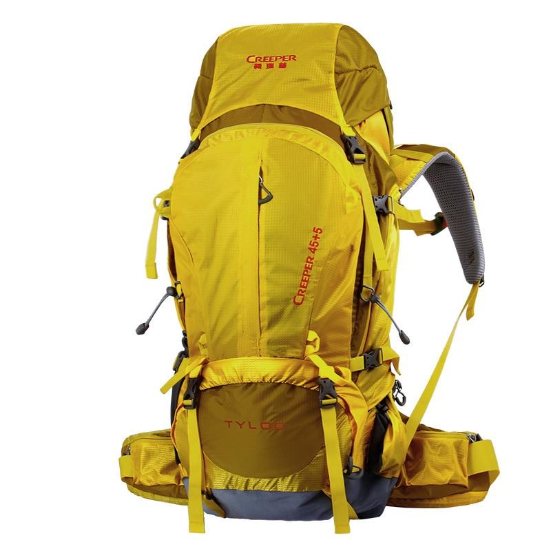 50L escalade voyage escalade sac professionnel en plein air sac Camping randonnée sac à dos cadre en métal grande capacité sacs de sport