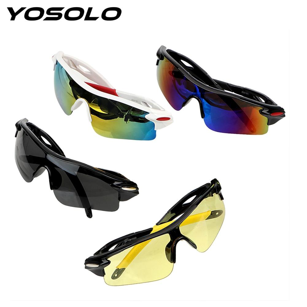 YOSOLO Night Vision Drivers Goggles Motocross Sunglasses UV Protection Anti-glare Car Night-Vision Glasses Explosion-proof