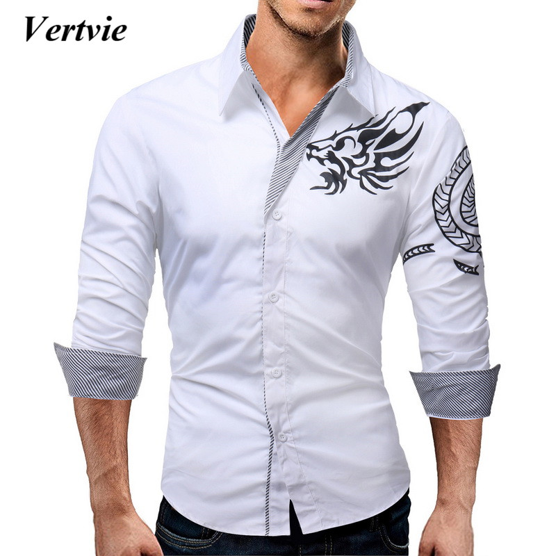 Compra dragon long sleeve shirt men y disfruta del envío gratuito en  AliExpress.com b0722f9bd09