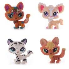 Figuras de acción de Lps, tienda de mascotas de 41 estilos, zorro, oreja grande, marrón, corto, gran danés, juguete para niños, regalo Original, envío gratis