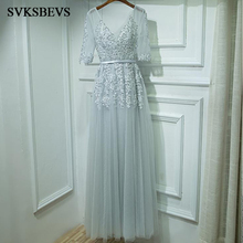 Beadings Sash Wedding Party Prom Gowns
