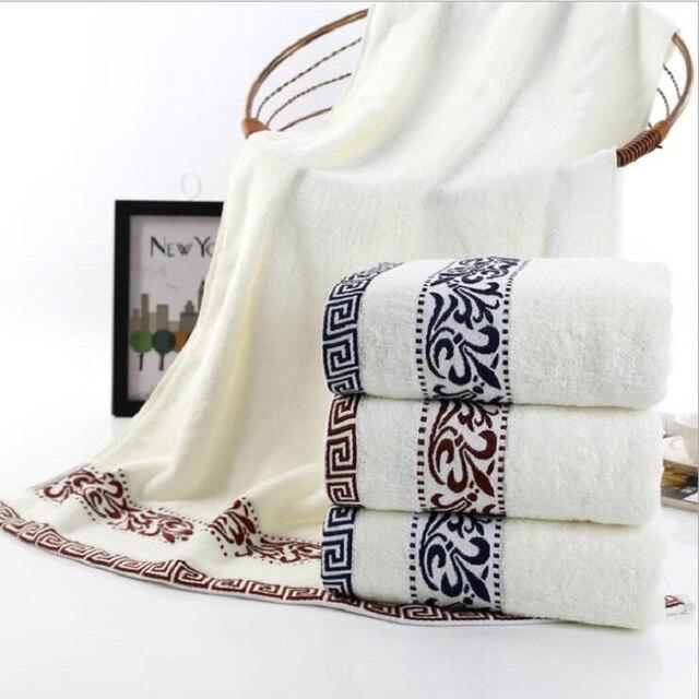100% Cotton Embroidered Towel Set 70*140cm Bath Towel Face Towels Bath Towel