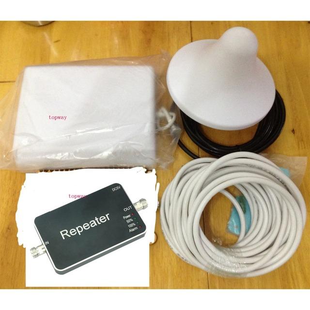 2016 Novo 4G LTE 4G Reforço de sinal Repetidor 2600 MHZ Tamanho Mini 4G sinal de Reforço de Sinal de Celular amplificador
