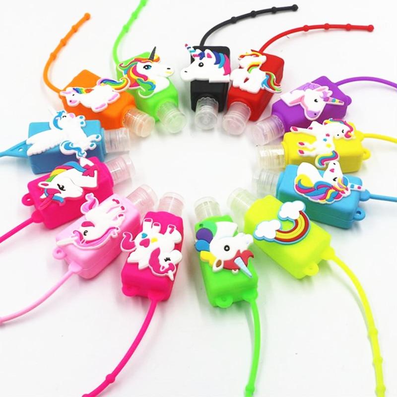 Online Shop Flamingo Unicorn Party Hand Sanitizer Bottle Set Baby Shower Birthday Party Decorations Kids Adult Mermaid Jungle Party Favors | Aliexpress Mobile