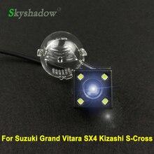 Для Suzuki Grand Vitara SX4 SX-4 хэтчбек кроссовер Alto S-Cross автомобиль CCD ночное видение 4LED резервная камера заднего вида Водонепроницаемая