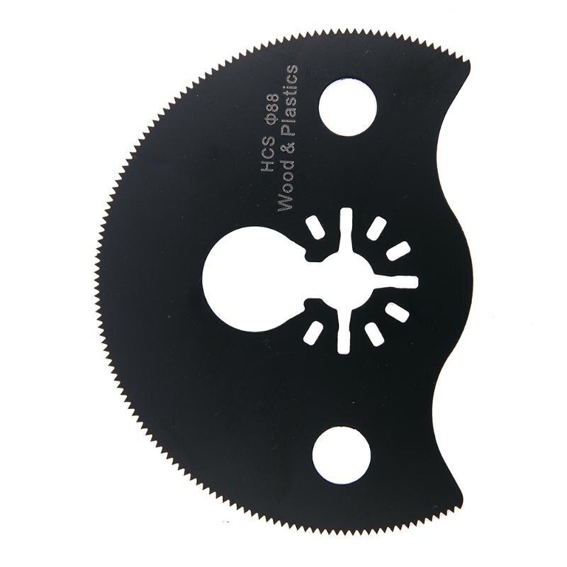 88mm Circular Saw Blade Oscillating Multi Rotary Tool Cutting Discs Mandrel For Dremel