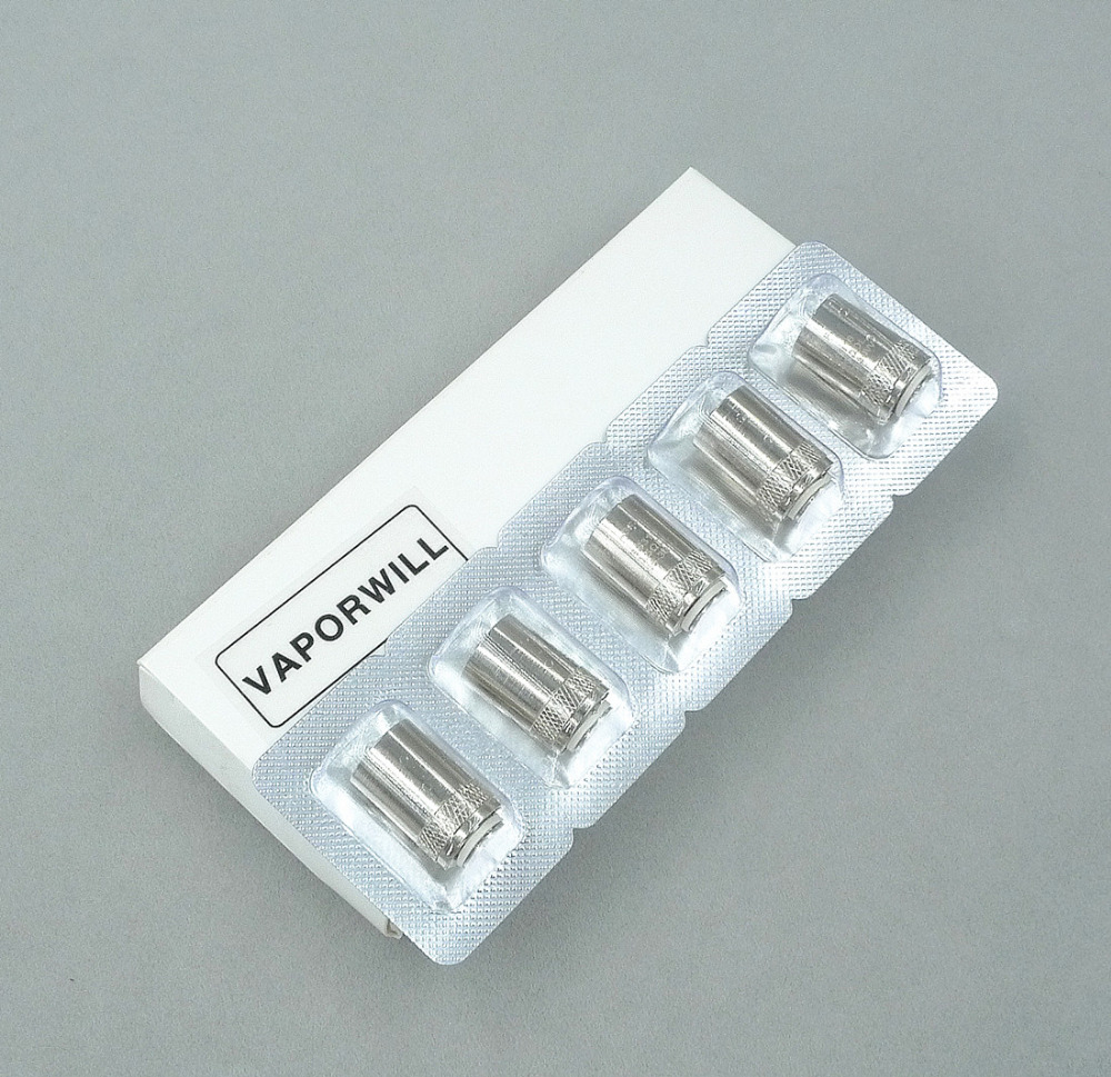 5Pcs EGO AIO BF Replacement Coil CUBIS SS316 Atomizer Head Core For CUBIS/ EGO AIO/ Cuboid Mini Atomizer(China)