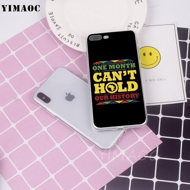 OUAGADOUGOU Mélanine Poppin Aba Hip Hop Rappeur Souple En Silicone TPU Housse pour iPhone 8 7 6 6 s Plus 5 5S SE X XS Max XR Étuis 2