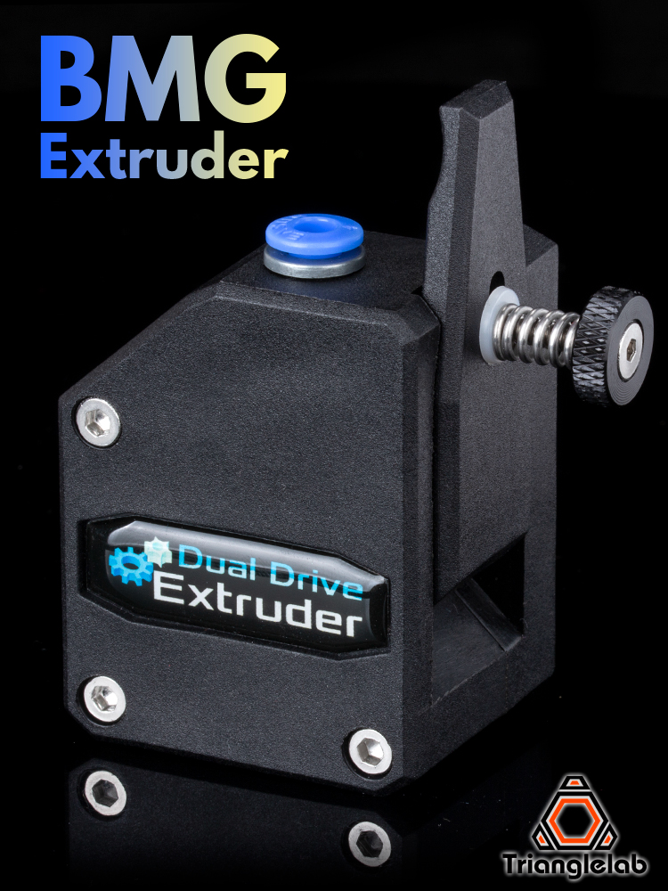 Bowden Extruder MK8 3d-Printer Dual-Drive Trianglelab Btech Cloned for High-Performance