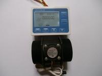 G 2 inch DN50 Flow Rate Water Sensor Meter+LCD Digital Display Control Programmable