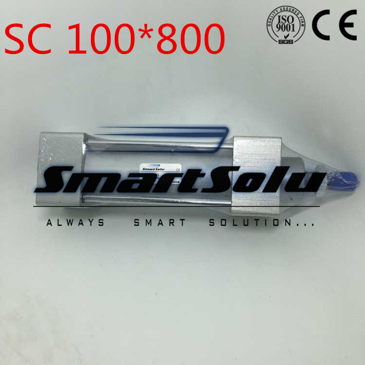 Free Shipping 100mm Bore 800mm Stroke G1/2 Port Standard Pneumatic Rod Cylinder SC100*800 Adjustable Air Cylinders With Cushion mx plus amlogic s905 smart tv box 4k android 5 1 1 quad core 1g 8g wifi dlna потокового tv box
