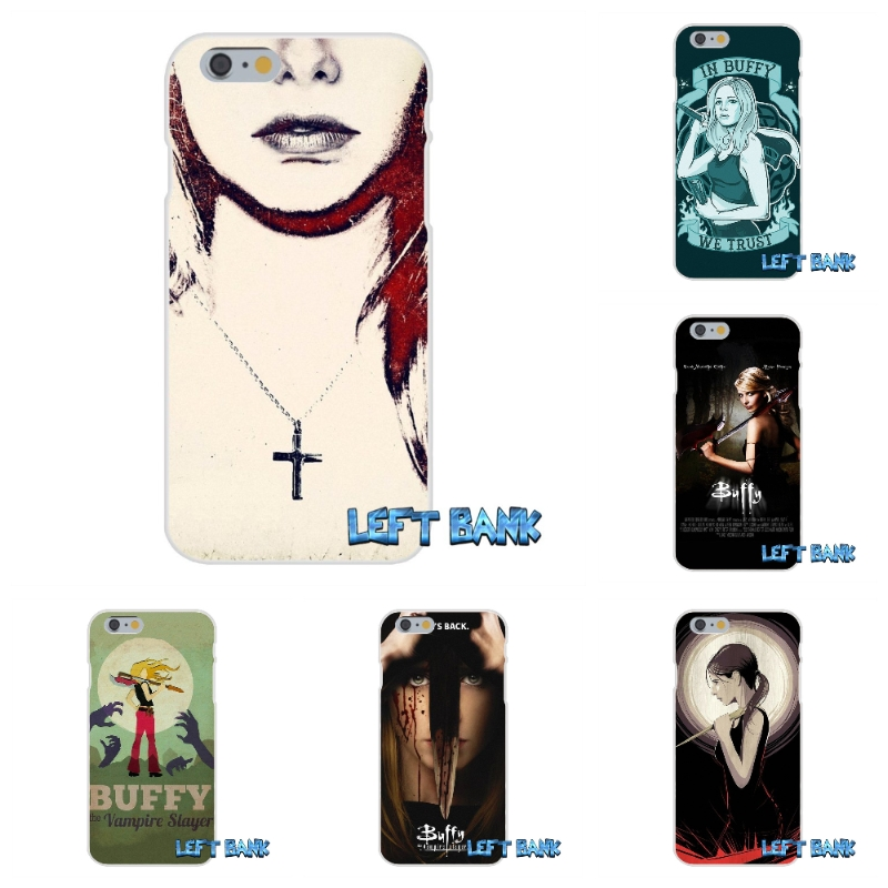 buffy the vampire slayer Soft Silicone TPU Transparent Cover Case For iPhone 4 4S 5 5S 5C SE 6 6S 7 Plus