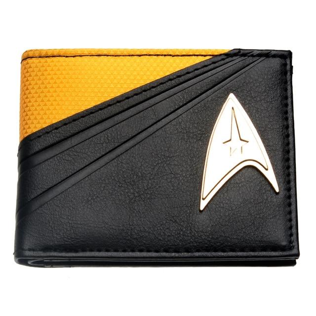 Кошелек Звездный путь Star Trek металлический логотип 2