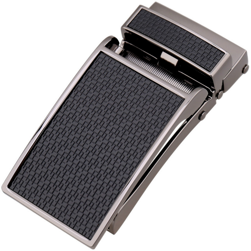 Men's Business Alloy Automatic Buckle Unique Men Plaque Belt Buckles For 3.1cm Ratchet Men Apparel Designer Belt LY133-30018