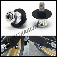 Free shipping For KAWASAKI Z800 2012-2015 Motorcycle Accessories Swingarm Spools slider 8mm stand screws