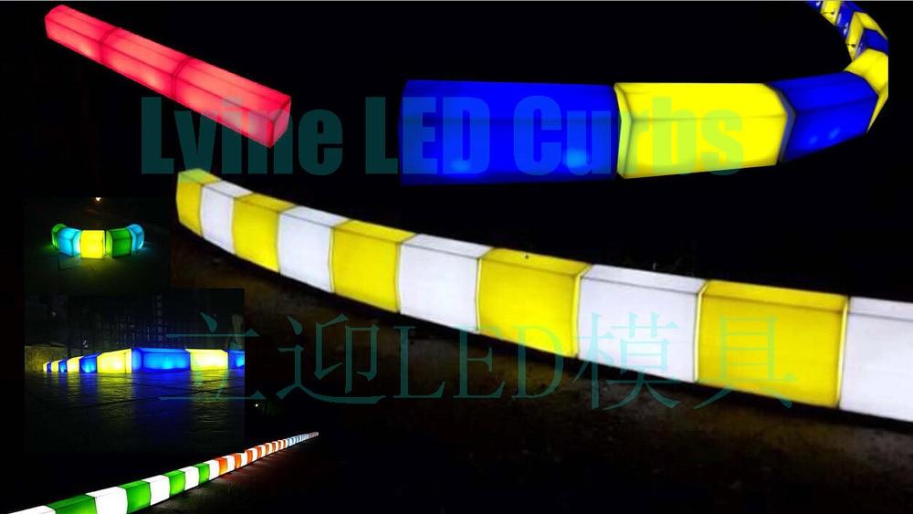 led light plastic road side stone on aliexpress com alibaba group