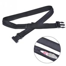 Unisex Nylon Travel Waist Bag Fanny Pack Secret Waist Money