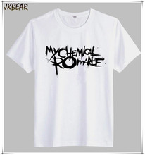 American Indie Rock Band My Chemical Romance T Shirts for Men Punk Fans Casual Tee Plus Size S-3XL