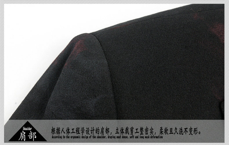 WAEOLSA Stylish Men Slim Fit Blazers Dark Flroal Print Suit Jackets Man Fashion Blazer Masculino Smart Casual Costume Mens Blazers Office (11)