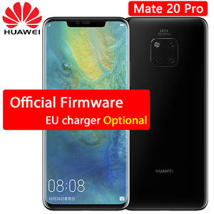 HUAWEI Mate 20 Pro cellphone 6.39 inch 2 k OLED Screen waterproof IP68 40 MP Rear