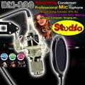 Профессиональная студия звукозаписи микрофон BM800 BM 800 конденсаторный микрофон для гитары музыка DJ караоке дома ну вечеринку барабан пк вещания