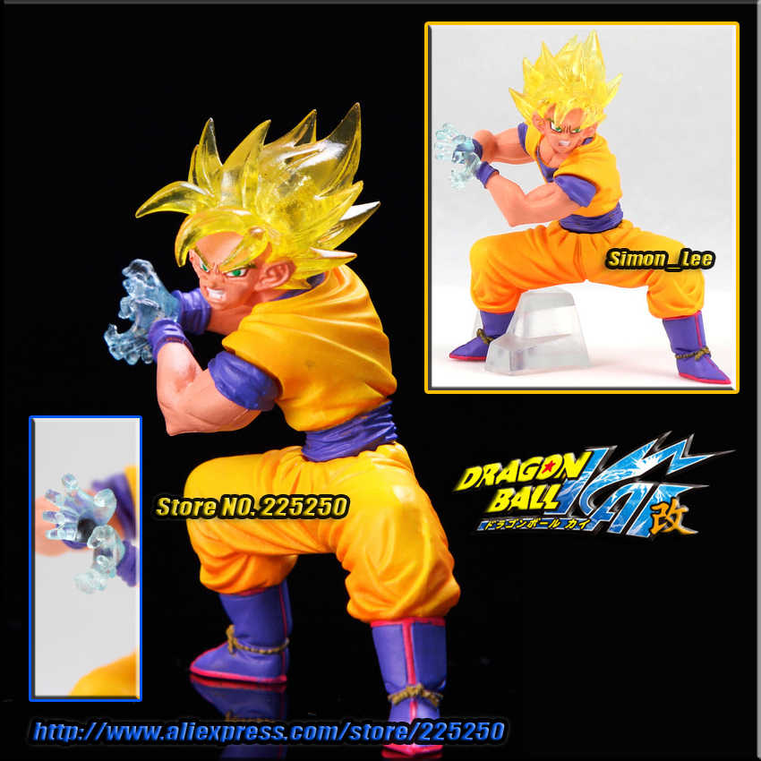 Japão Anime DRAGONBALL Dragon Ball Z Genuine Original BANDAI Gashapon PVC Brinquedos Figuras DG Parte 3-Goku Goku Super saiyan