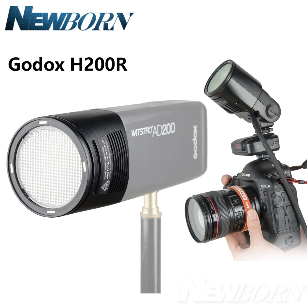 New Arrive!! Godox H200R Ring Flash Head Separation Extension Head Portable with spiral flash for Godox AD200 FlashNew Arrive!! Godox H200R Ring Flash Head Separation Extension Head Portable with spiral flash for Godox AD200 Flash