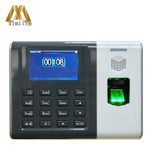 online shop free software fingerprint recognition attendance device
