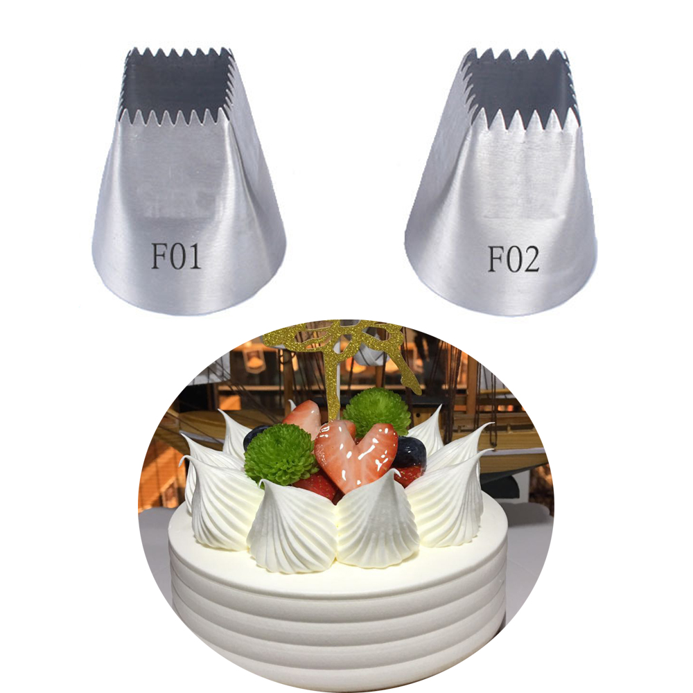 Pastry Tips Cream Nozzle Icing Piping Nozzles Cake Decorating Tool Baking Mold