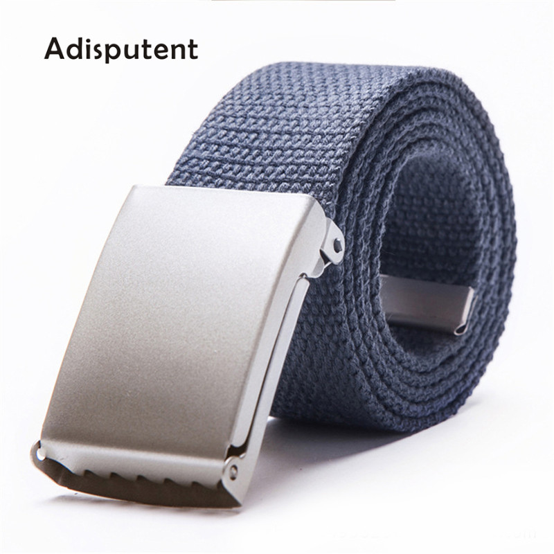 HOT SALE] Men Female Belts Military Nylon Adjustable Belt